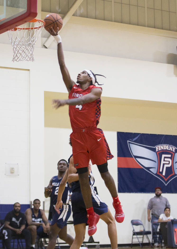 Findlay Prep takes on Bella Vista College Prep on Friday, November 9, 2018, in Henderson. Benjamin Hager Las Vegas Review-Journal