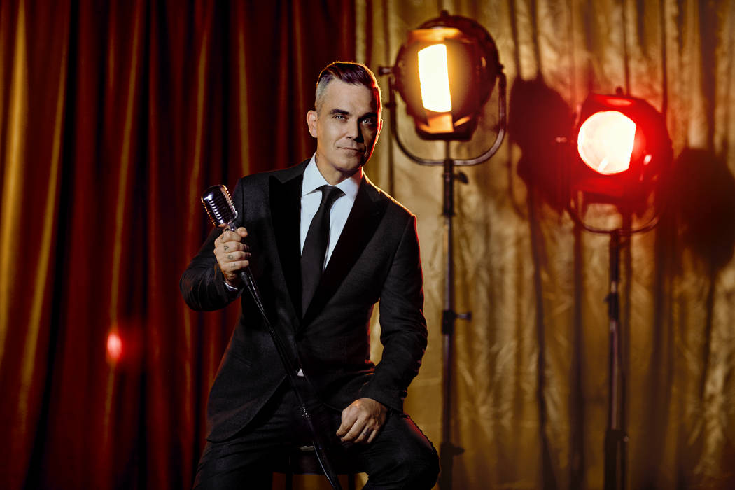 Robbie Williams plays six shows at Encore Theater at Wynn Las Vegas in March. (Courtesy)