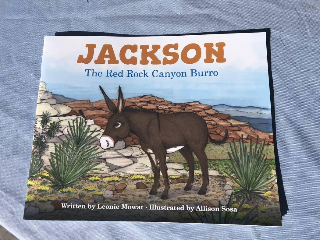 """Jackson: The Red Rock Canyon Burro"" on Saturday, November 10, 2018. (Janna Karel Las Vegas Review-Journal)"