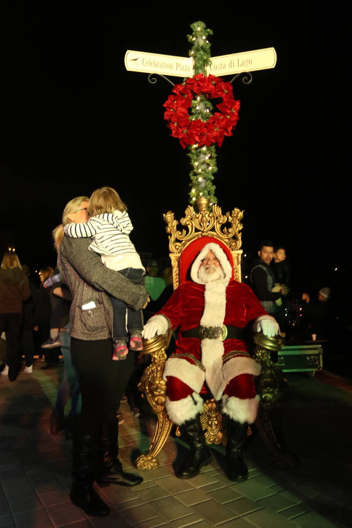 The spirit of the holidays has visited Lake Las Vegas, which has scheduled events for Nov. 17. (Lake Las Vegas)