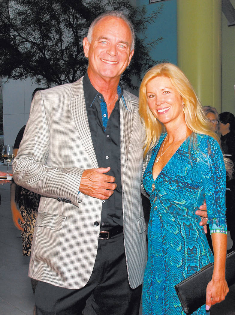 Gary and Deborah Ackerman of the Gaudin car dealerships. (Las Vegas Review-Journal File Photo)