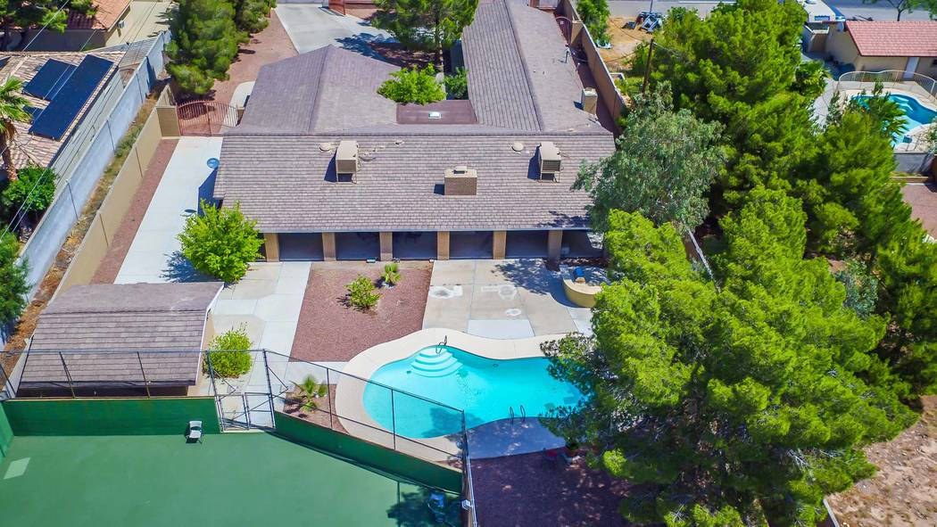 The home at 6739 Tara Ave. has a tennis court and a pool. (Xpand Realty)