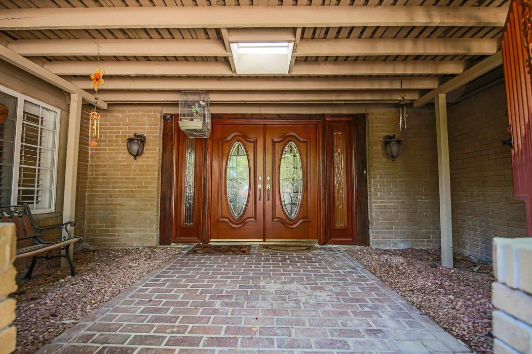 The entrance to the home at 6739 Tara Ave. (Xpand Realty)