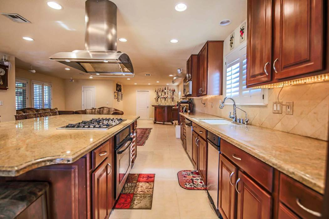 The kitchen features upgraded appliances. (Xpand Realty)
