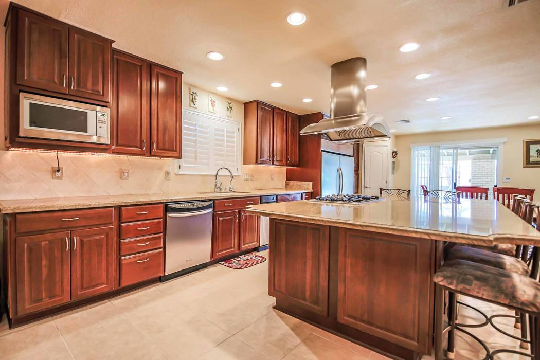 The kitchen. (Xpand Realty)