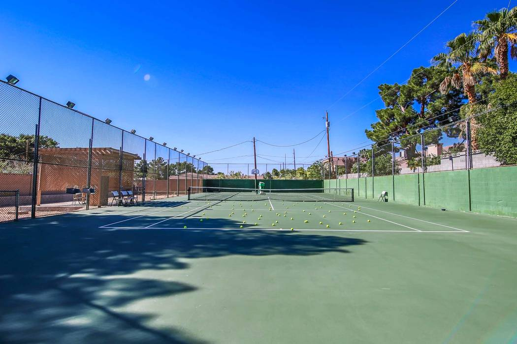 The tennis court. (Xpand Realty)