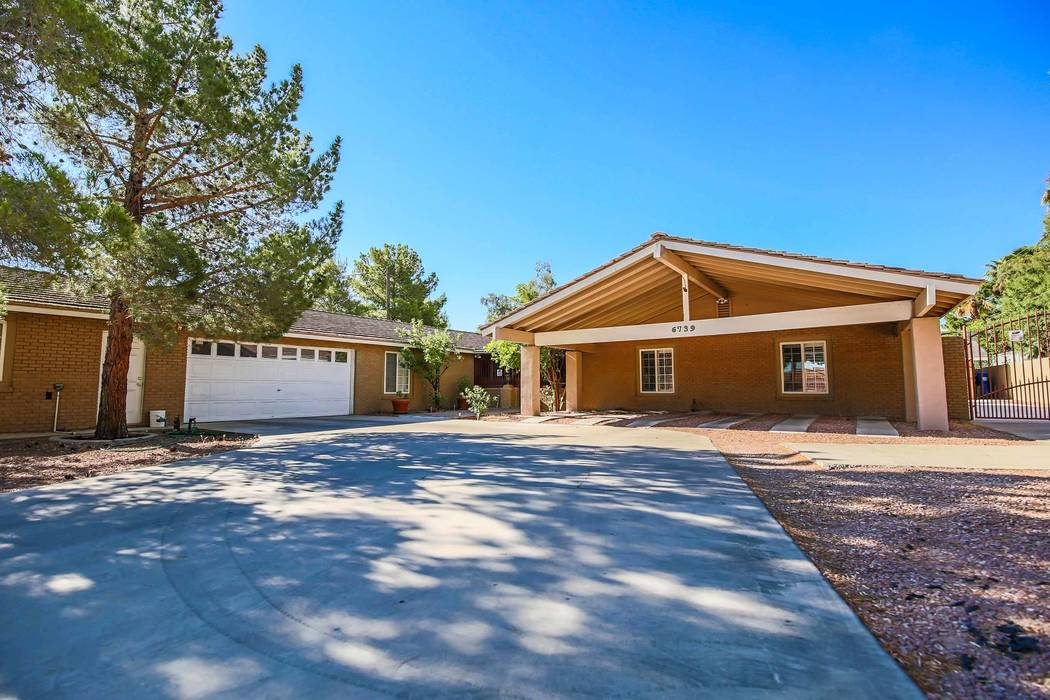 The Las Vegas childhood home of tennis legend Andre Agassi has been listed for $725,000. (Xpand Realty)