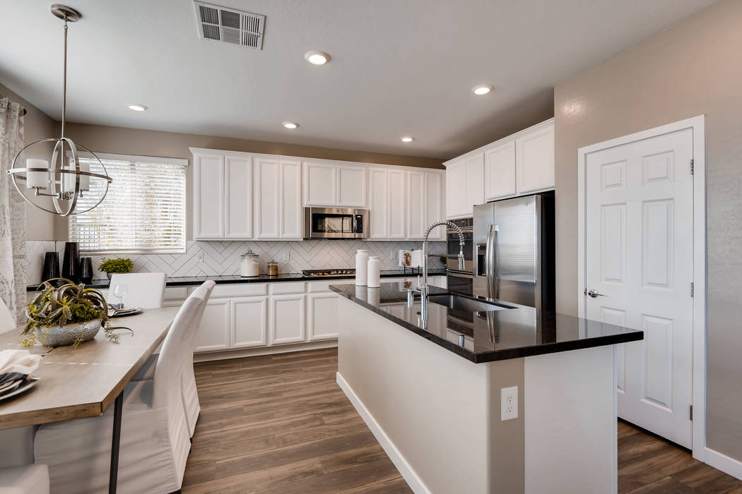 Westcott by Lennar is the newest neighborhood in the village of Stonebridge. Models are open and the neighborhood is actively selling. (Summerlin)