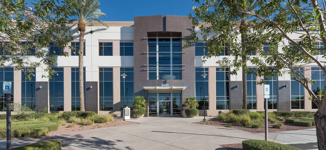 JMA Ventures bought three office buildings in Henderson, including the one at 2485 Village View Drive, seen here, for $34 million total. (Cushman & Wakefield )