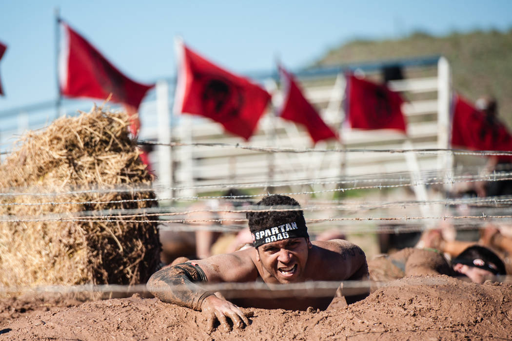 An athlete competes in a recent Spartan Race. Photo courtesy of Spartan Race, Inc.