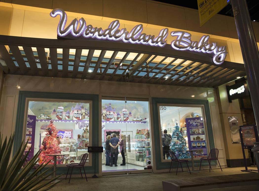 Wonderland Bakery on Wednesday, November 14, 2018, in Las Vegas. Benjamin Hager Las Vegas Review-Journal