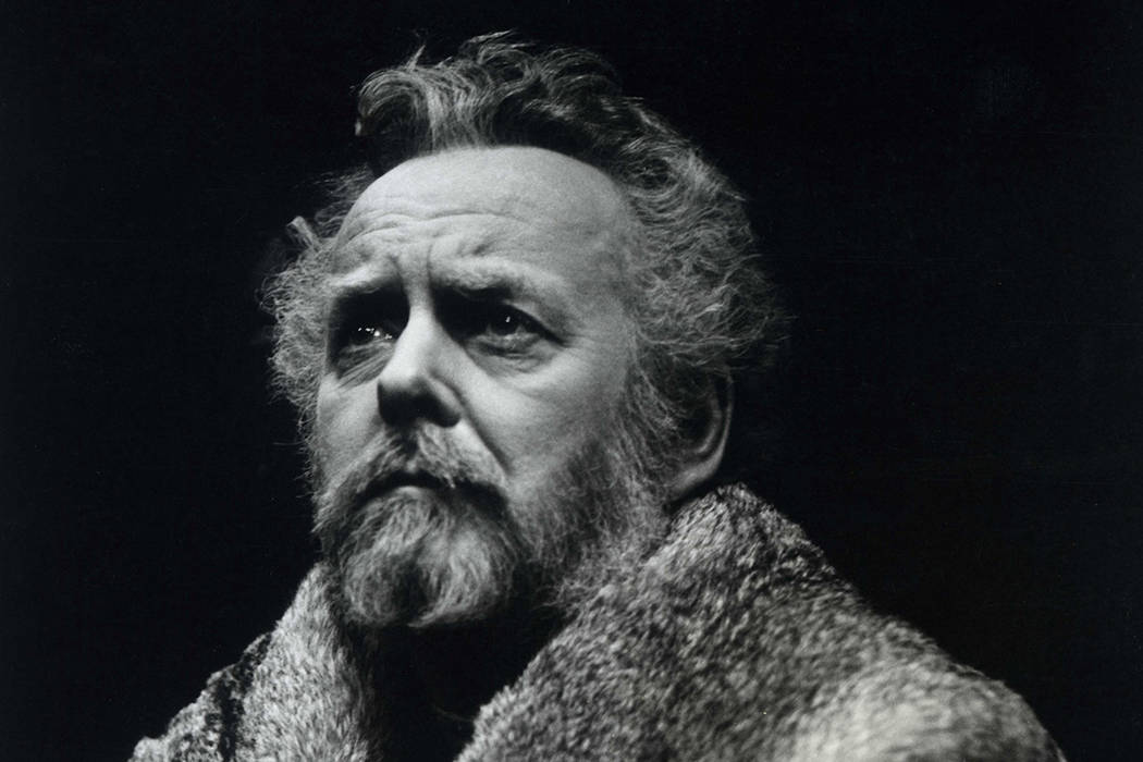 In this June 7, 1979 photo provided by Stratford Festival, Actor Douglas Rain appears as King Henry IV in this scene from The Second Part of Henry IV at Stratford's Festival Theatre in Stratford, ...