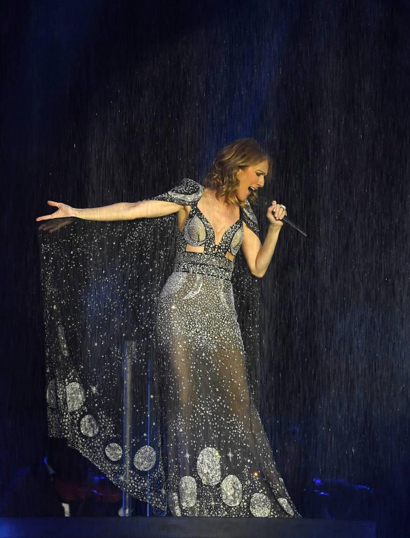Celine Dion, seen in 2017 (Denise Truscello)