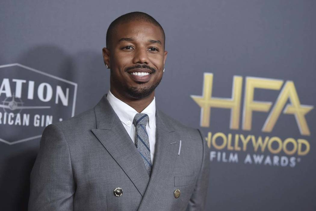 Michael B. Jordan arrives at the Hollywood Film Awards on Sunday, Nov. 4, 2018, at the Beverly Hilton Hotel in Beverly Hills, Calif. (Photo by Jordan Strauss/Invision/AP)