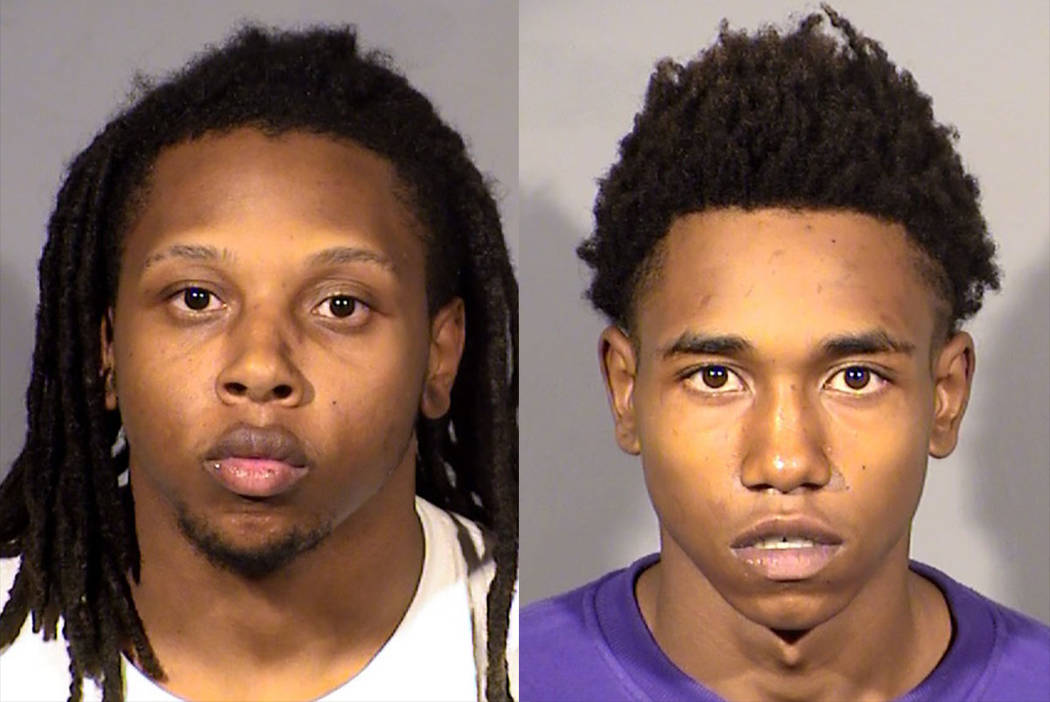 Jarquan Tiffith, left, and Damion Dill (North Las Vegas Police Department)