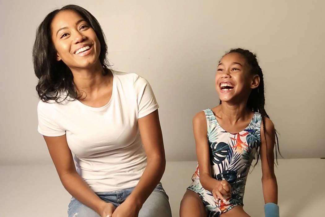 Nikki Green and her daughter, Starr. (Eric Ita)