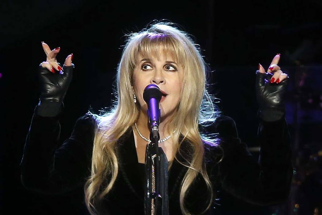 Singer Stevie Nicks performs during a Fleetwood Mac concert at Madison Square Garden, Monday, April 8, 2013, in New York. (Photo by Jason DeCrow/Invision/AP)