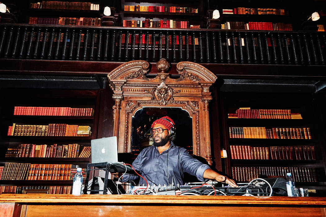 DJ Questlove performs at the VIP opening party of NoMad Restaurant on Saturday, Nov. 10, 2018. (NoMad Las Vegas)