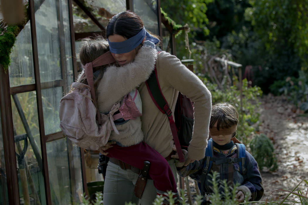 "Sandra Bullock stars in ""Bird Box."" (Netflix)"