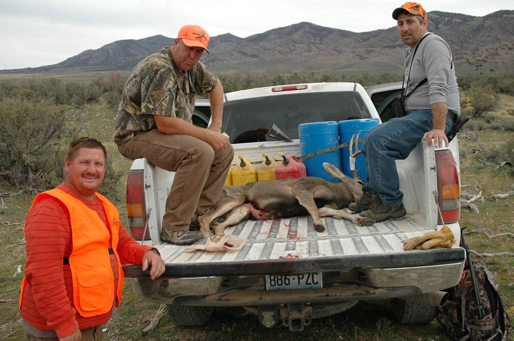 An oft overlooked aspect of hunting is the camaraderie that develops between those who hunt together. J.J. Blumenthal, Don Nash and Paul Mona (left to right) take a break after working together to ...