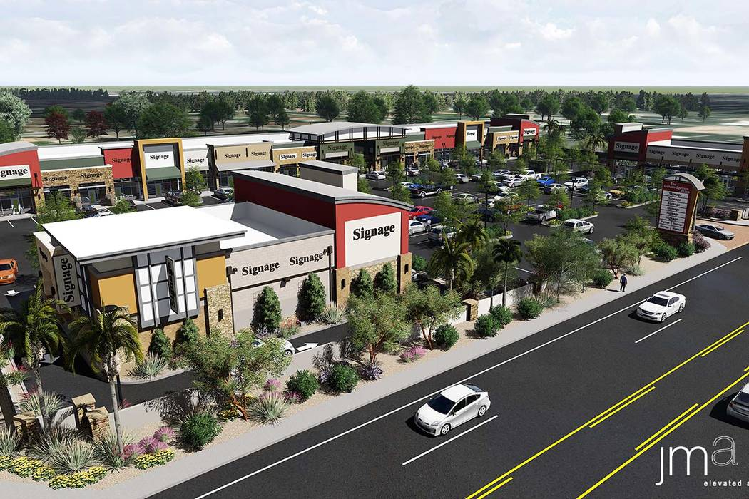 Las Vegas Chinatown Area Getting New Retail Center Las Vegas Review Journal