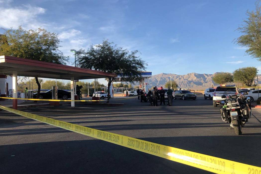 A 16-year-old died after a shooting in North Las Vegas on Tuesday, Nov. 13, 2018, police said. (Katelyn Newberg/Las Vegas Review-Journal)