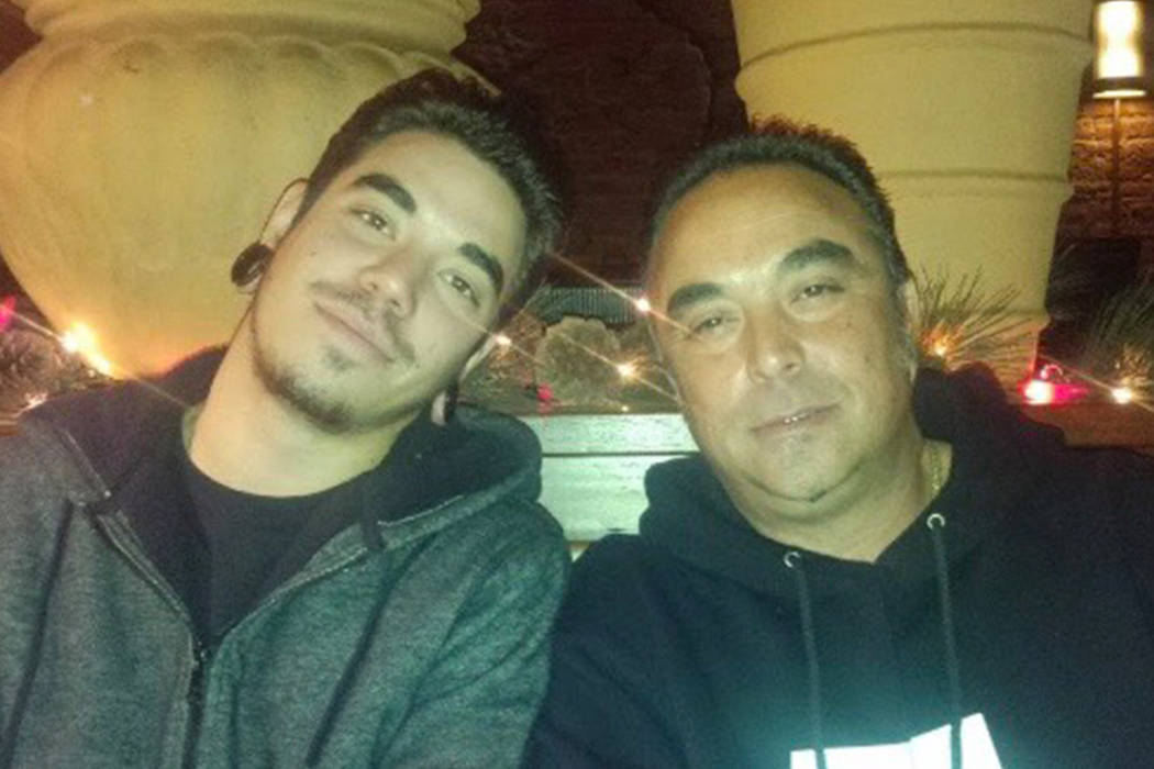 Jesus Fernandez, right, was one of the first few Camp Fire victims identified this week, killed as the blaze tore through the mountain community of Paradise, Calif. The Las Vegas native leaves beh ...