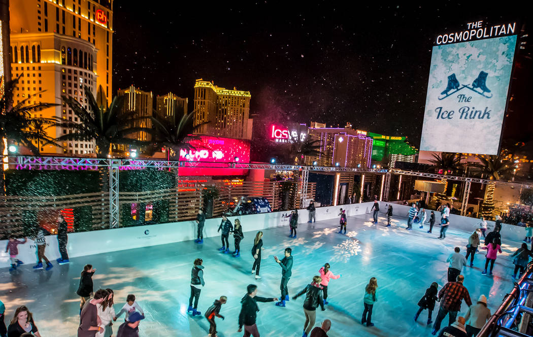 The Ice Rink at The Cosmopolitan of Las Vegas. (Courtesy)