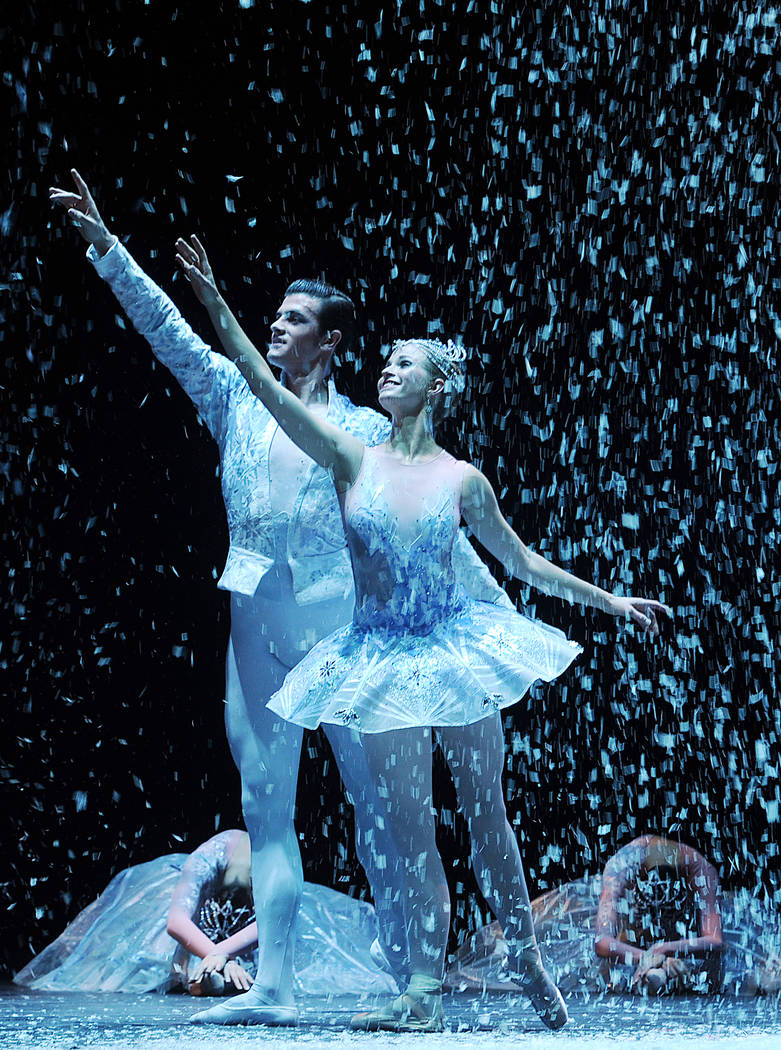 "Nevada Ballet Theatre's ""The Nutcracker"" returns to The Smith Center on Dec. 8. (Denise Truscello)"