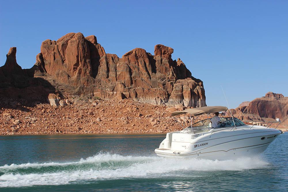 Lake Powell in Arizona. (Las Vegas Review-Journal)