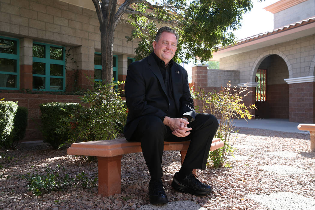 Deacon Tom Roberts at the Catholic Charities of Southern Nevada in North Las Vegas, Wednesday, Nov. 14, 2018. Erik Verduzco Las Vegas Review-Journal @Erik_Verduzco