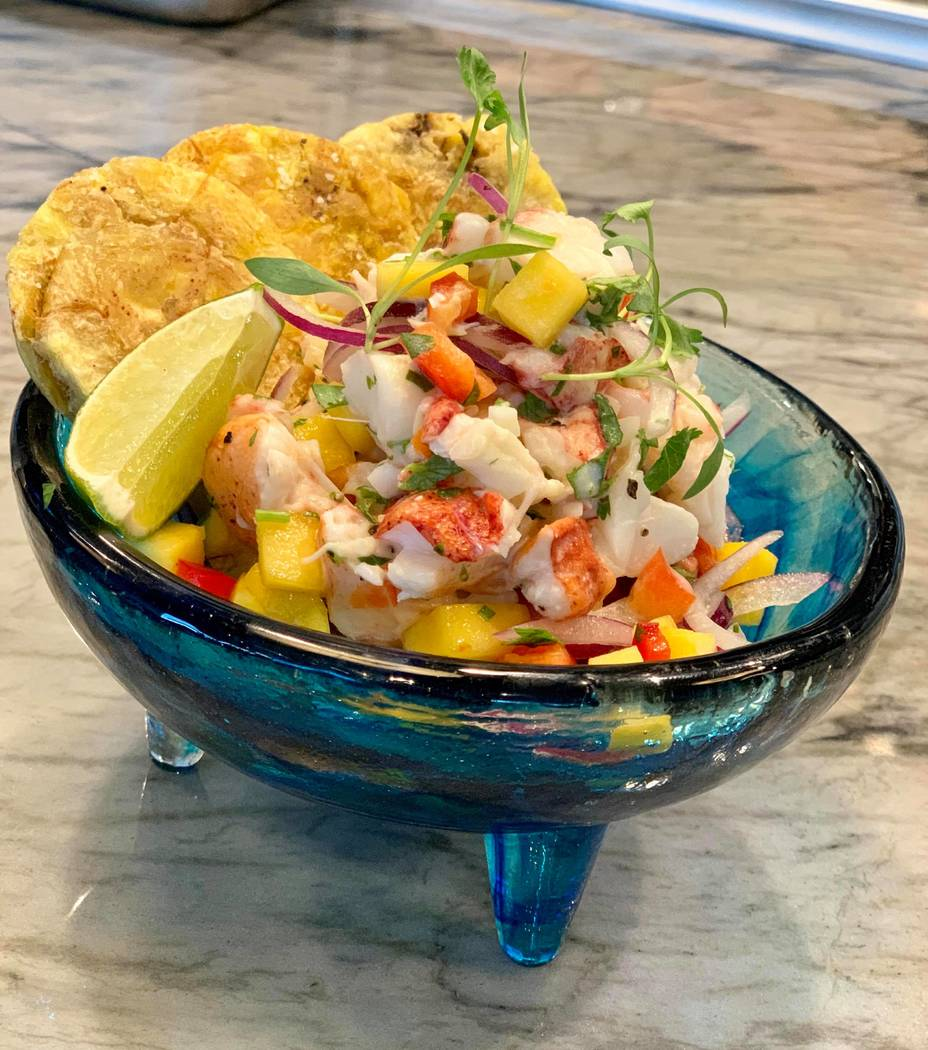 Lobster Ceviche At Mordeo