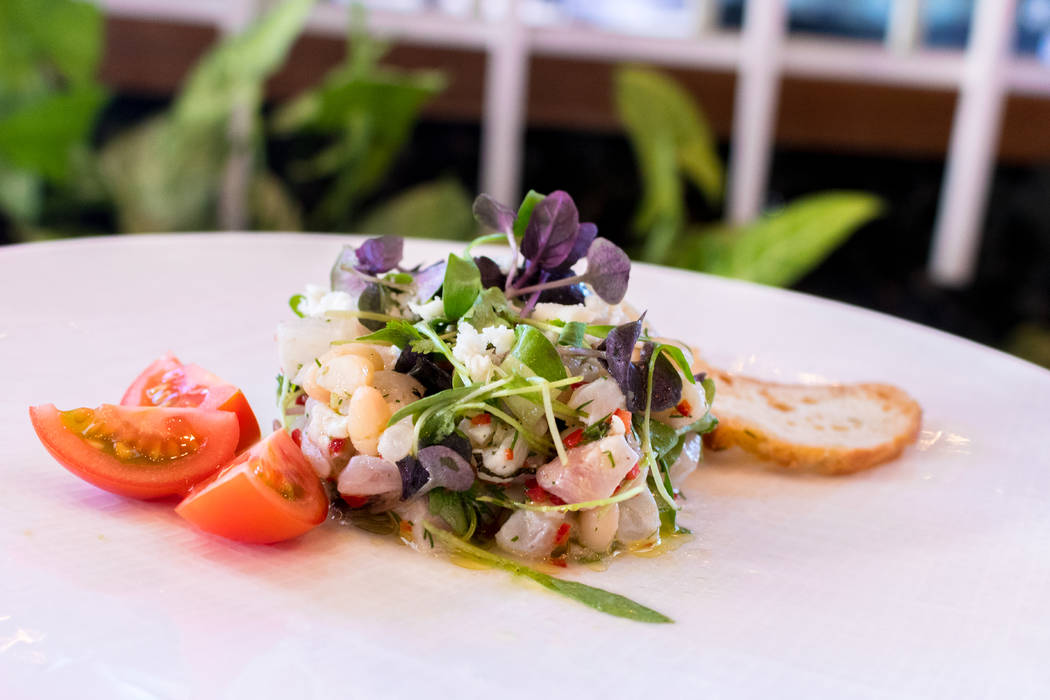 Estiatorio Milos At The Cosmopolitan Puts A Greek Spin On Ceviche