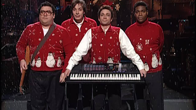 """I Wish It Was Christmas Today"" has become a yearly treat as part of ""Saturday Night Live Best of Christmas."" (NBC)"