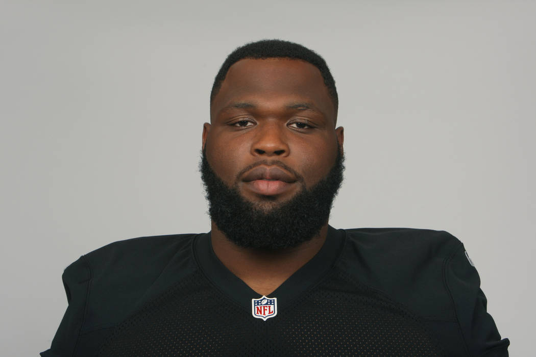 This is a photo of Justin Ellis of the Oakland Raiders NFL football team. This image reflects the Oakland Raiders active roster as of Tuesday, June 12, 2018. (AP Photo)