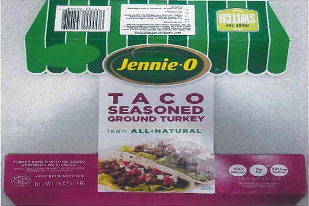 Jennie-O-Turkey is recalling more than 91,000 pounds of raw turkey in an ongoing salmonella outbreak. (United States Department of Agriculture)