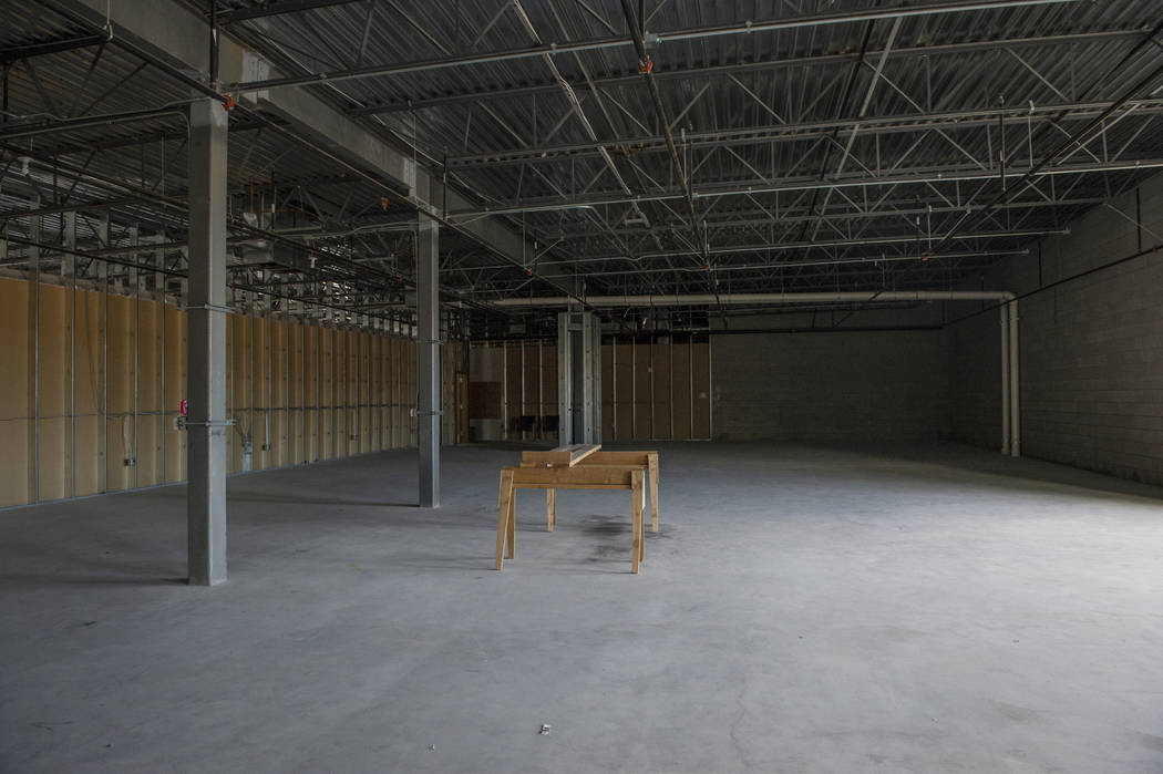 An inside view of one the properties recently purchased by Nigro Development in the Coronado Canyons retail center in Henderson, Tuesday, Nov. 13, 2018. Caroline Brehman/Las Vegas Review-Journal