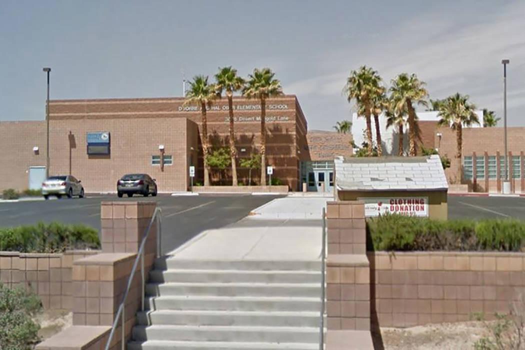 Ober Elementary school in Summerlin (Screengrab/Google Street View)