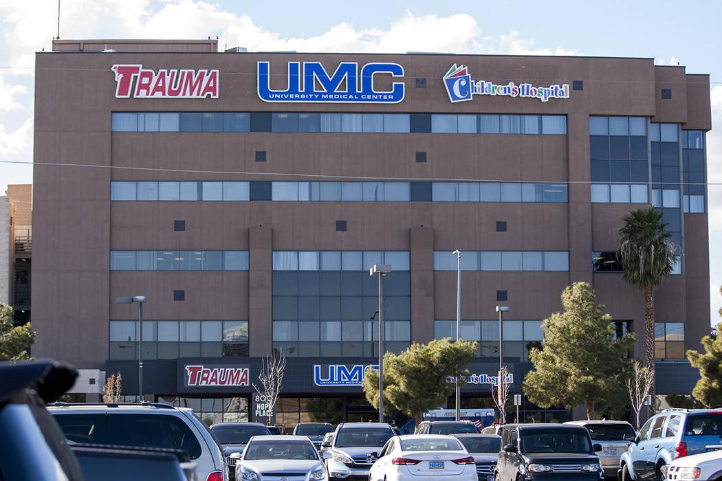 The UMC Trauma Center, Nevada's only level 1 trauma center, in Las Vegas on Thursday, Jan. 25, 2018. (Patrick Connolly/Las Vegas Review-Journal) @PConnPie