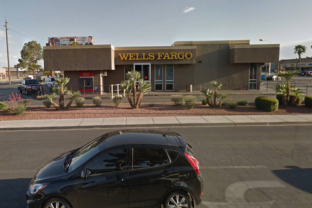 Bystanders called in reports of a fight at 791 N. Nellis Blvd. Google Street View image.