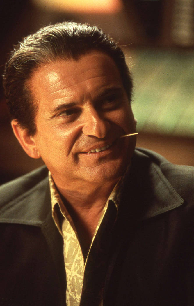 Joe Pesci stars as Nicky Santoro, Ace's hot-tempered best friend who brings his streetwise muscle to Ace's Las Vegas operation and eventually betrays him. (Universal City Studios, Inc.)