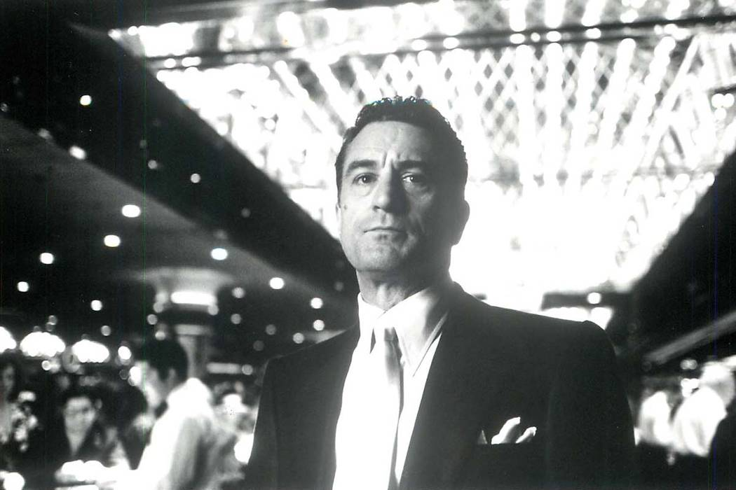 "Robert De Niro stars as Sam ""Ace"" Rothstein, picked by Mob bosses to front four Las Vegas casinos, who ends up doubling their take and changing the rules of how the casinos are run. (Phi ..."