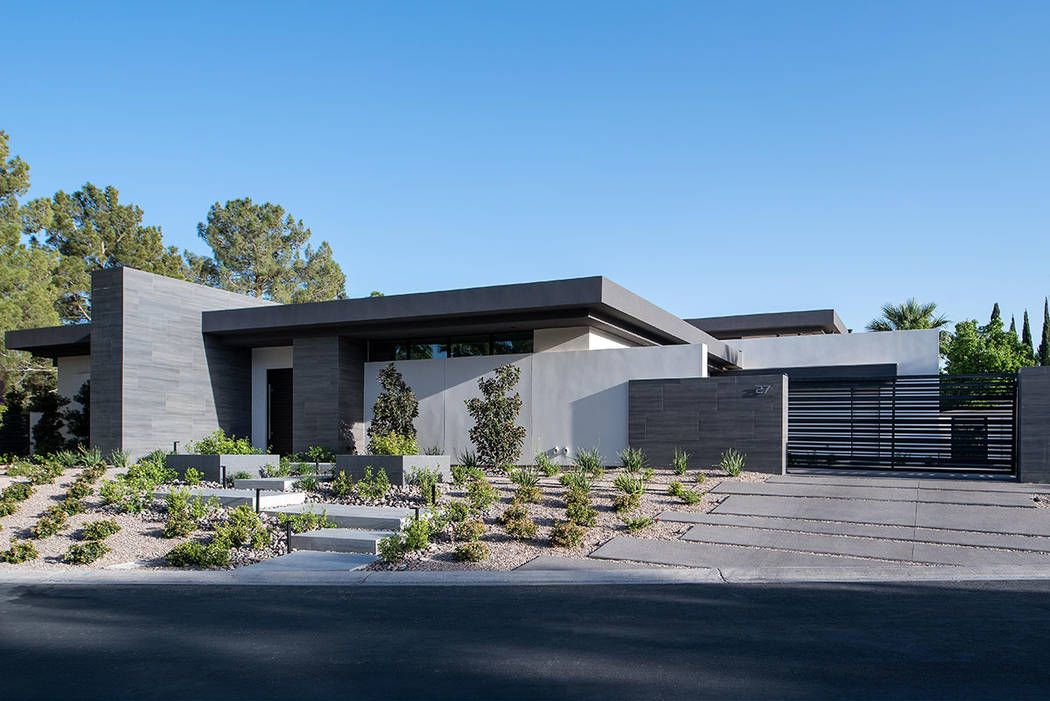 Michael Gardner, principal of Henderson-based firm Studio g Architecture, designed the home at 27 Burning Tree Court in Spanish Trail. (Studio g Architecture)