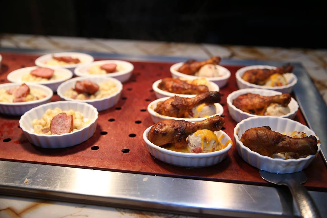 Food at the Feast Buffet at the Station Casino hotel-casino in Las Vegas, Wednesday, Oct. 3, 2018. Erik Verduzco Las Vegas Review-Journal @Erik_Verduzco