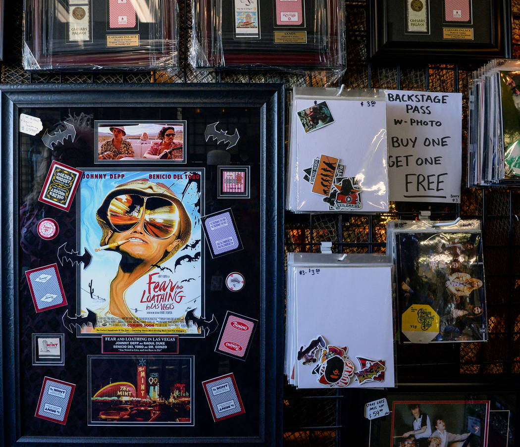 Various products are set on display for sale inside Main Street Peddler Antique Mall in Las Vegas, Wednesday, Nov. 21, 2018. Caroline Brehman/Las Vegas Review-Journal