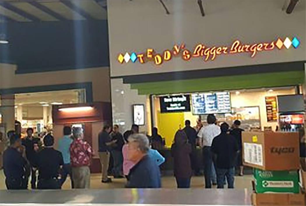The Teddy's Bigger Burgers location in Mapunapuna in Honolulu, Hawaii (teddysbb.com)