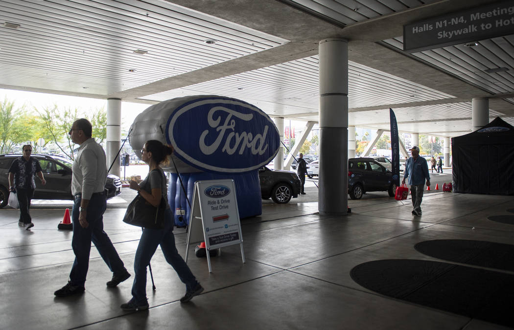 The 2019-Model Motor Trend International Auto Show remains open for the last day of the three day show at the Las Vegas Convention Center in Las Vegas, Sunday, Nov. 25, 2018. Caroline Brehman/Las ...