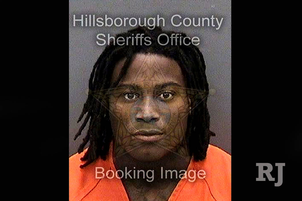 In this Saturday, Nov. 24, 2018 photo provided by the Hillsborough County Sheriff's Office shows San Francisco 49ers football player Reuben Foster. The San Francisco 49ers released Foster on Sunda ...