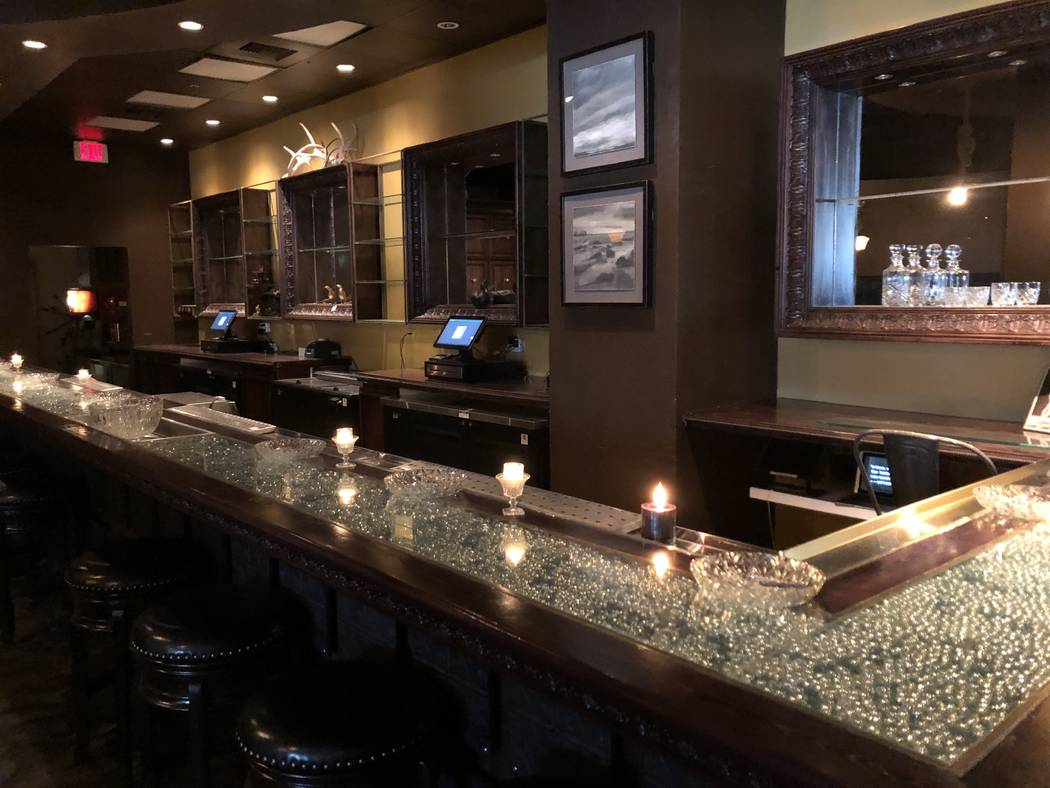 The Old Soul restaurant at World Market Center in Las Vegas. Photo by Al Mancini Las Vegas Review-Journal