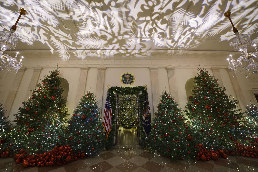 Melania Trump Unveils White House Holiday Display